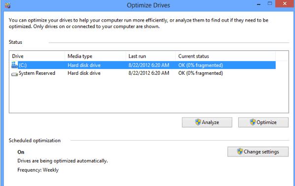optimize drives untuk mempercepat windows 10
