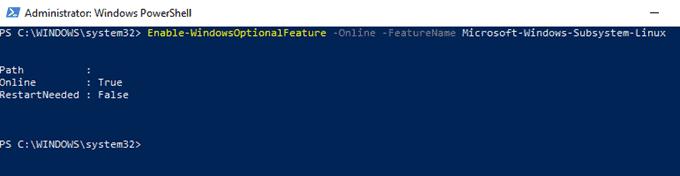 powershell install linux