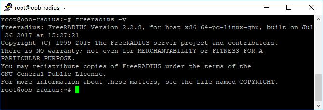 verifikasi intal freeradius