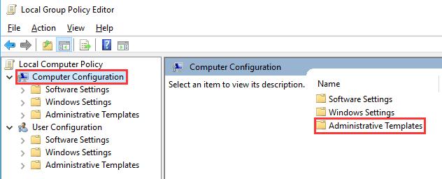 pilih computer configuration