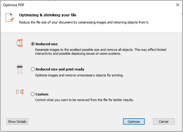 compress pdf offline menggunakan NitroPDF