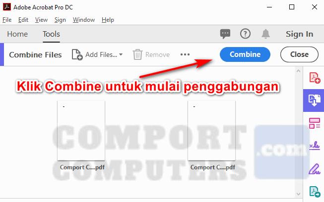 gabung file pdf secara offline