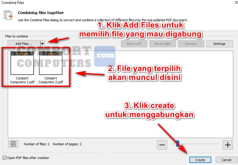 cara menggabungkan file pdf menggunakan nitroPDF